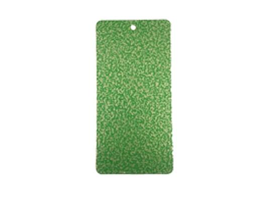 Green hammer powder coating